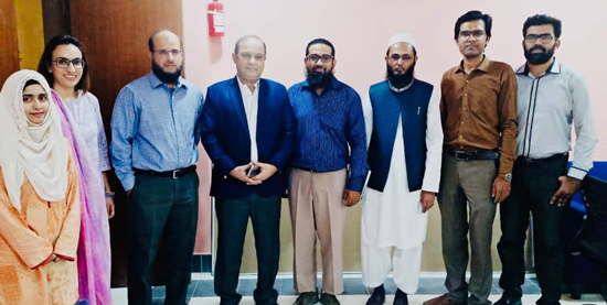 Commodore Dr. Junaid Smart City Lab, NCAI visit